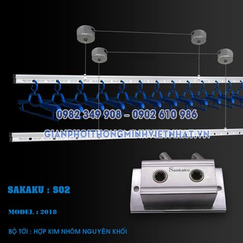 Giàn phơi thông minh nhập khẩu sankaku s02 model 2018